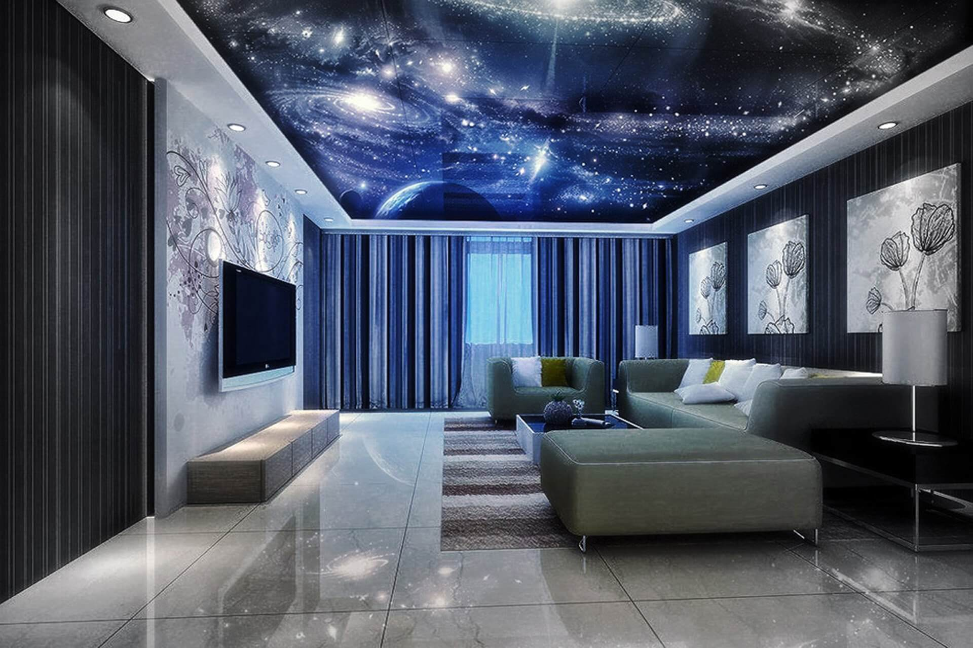 Потолок «Звездное небо»